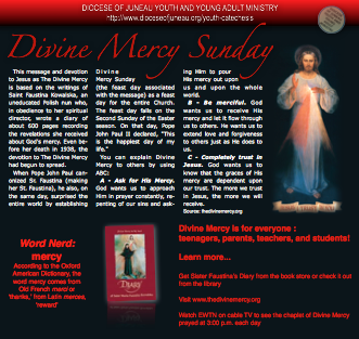 Divine Mercy Sunday PDF