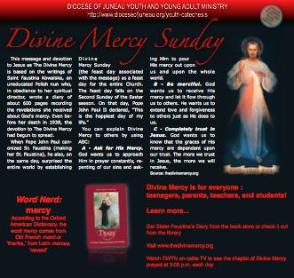 Divine Mercy Sunday PDF
