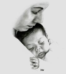 mother-holding-sleeping-baby
