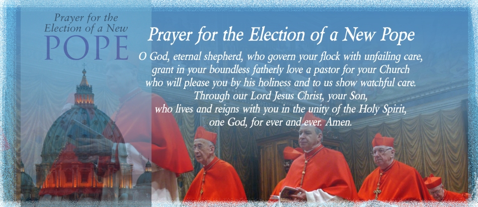 Prayer for the election of a new pope2