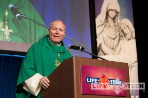 Bishop Burns spoke recently at the Catholic Youth Ministry Training convention in Scottsdale, AZ.