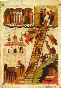 Ladder of Divine Ascent Novgorod color