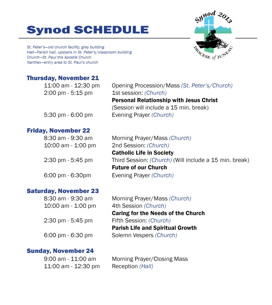 Schedule bulletins