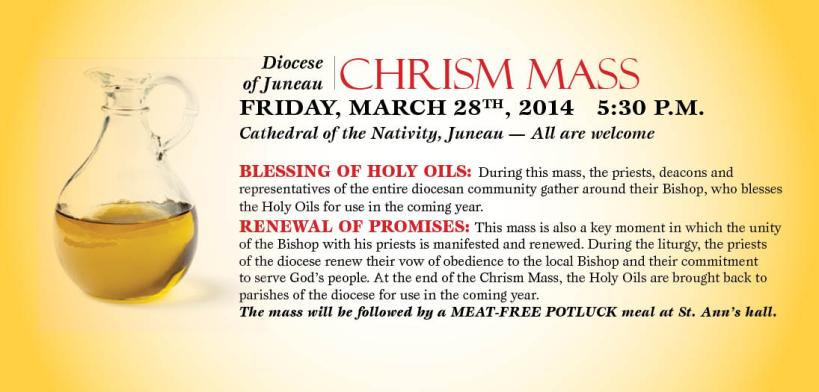 Chrism ad corrected