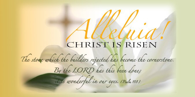 Image result for image Alleluia He is Risen