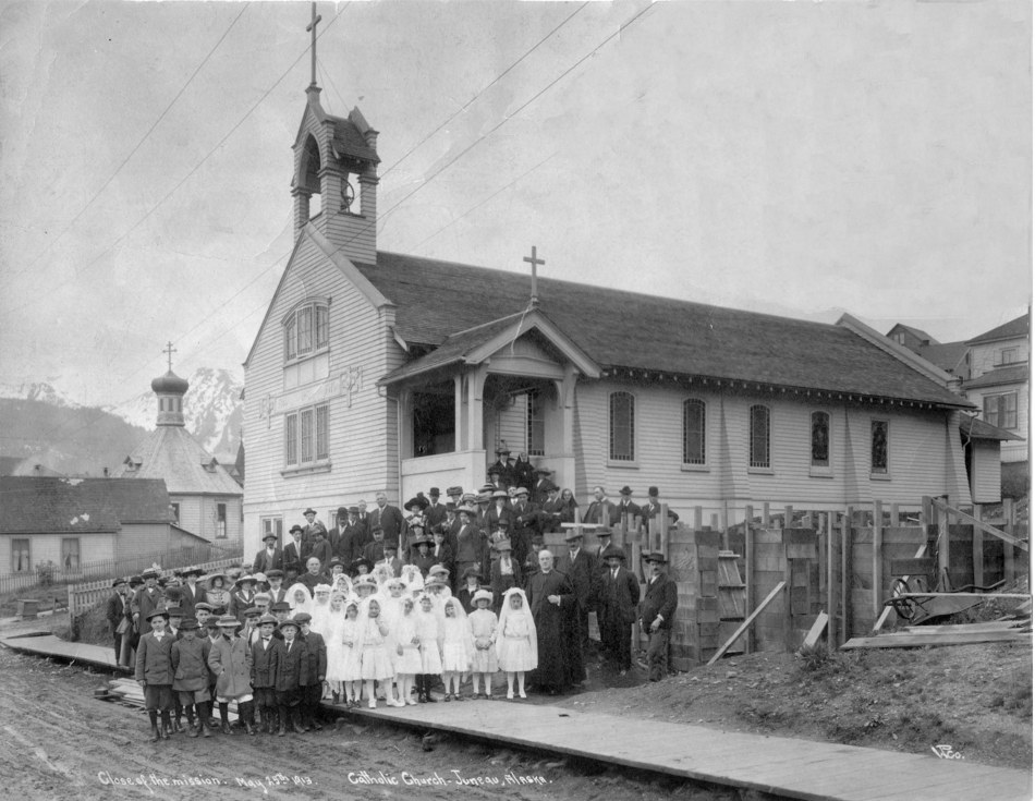 Cathedral of the Nativity of the Blessed Virgin Mary in Juneau, Alaska. 1913.