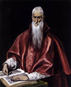 St. Jerome, by El Greco