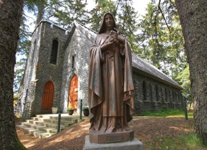 The Shrine of St. Therese, Juneau, AK.