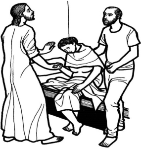 Jesus Healing the Mother-in-Law of Simon Peter