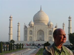 Fr. Peter Gorges in India.