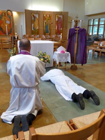 Bishop sorrow ceremony
