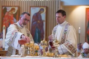 Bishop Bellisario ordination.